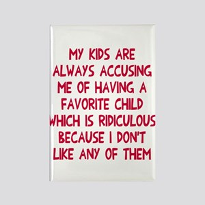 Favorite child Rectangle Magnet